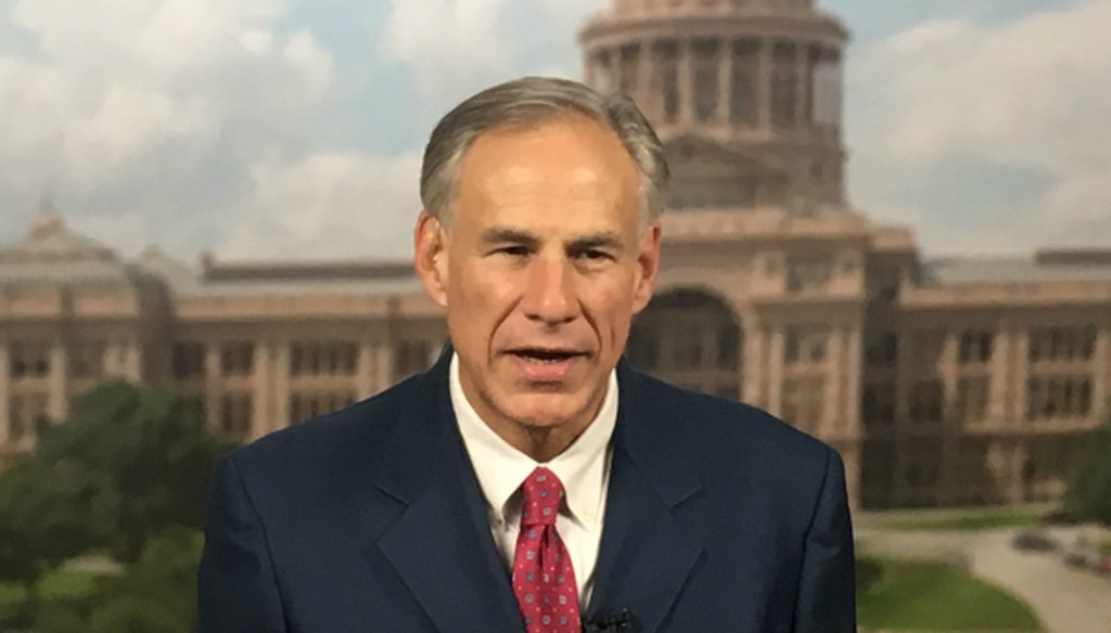 Texas Gov. Greg Abbott, who announced his 2018 bid for re-election in July 2017, has invoked George Soros as a threat to Republican hopes in Texas. Soros has yet to put money into Texas state elections, records suggest.