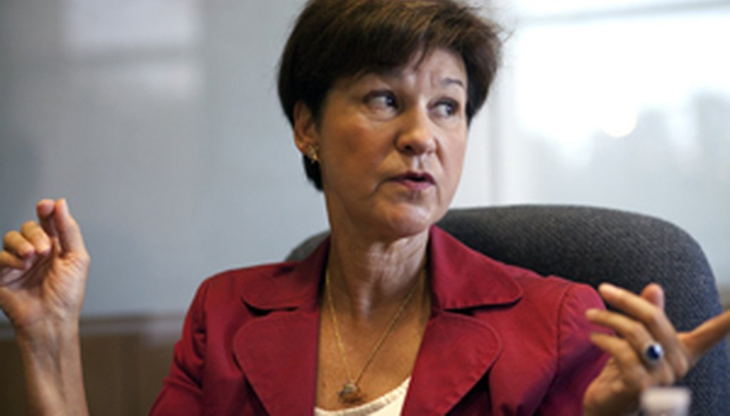 Alex Sink was critical of the state-run Citizens insurance company while she was chief financial officer.