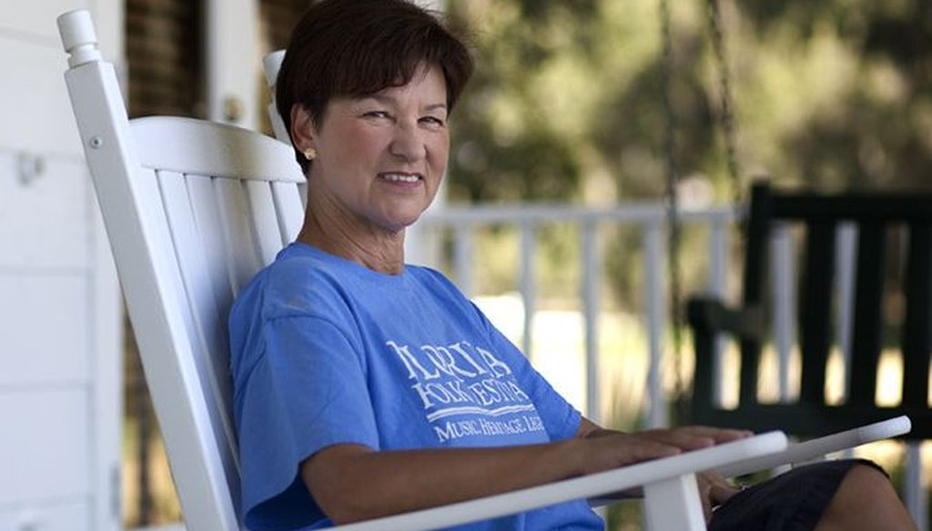 Former Florida CFO Alex Sink said she will not run for governor in 2014.
