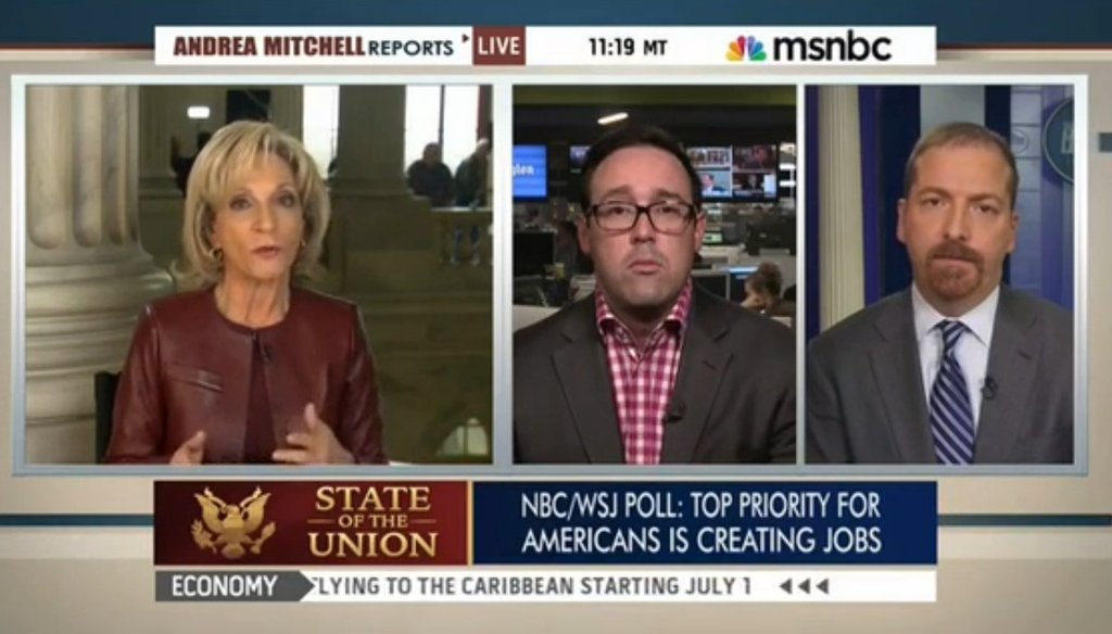 """On MSNBC, Andrea Mitchell said Iran was """"more or less"""" a U.S. ally in 2002."""