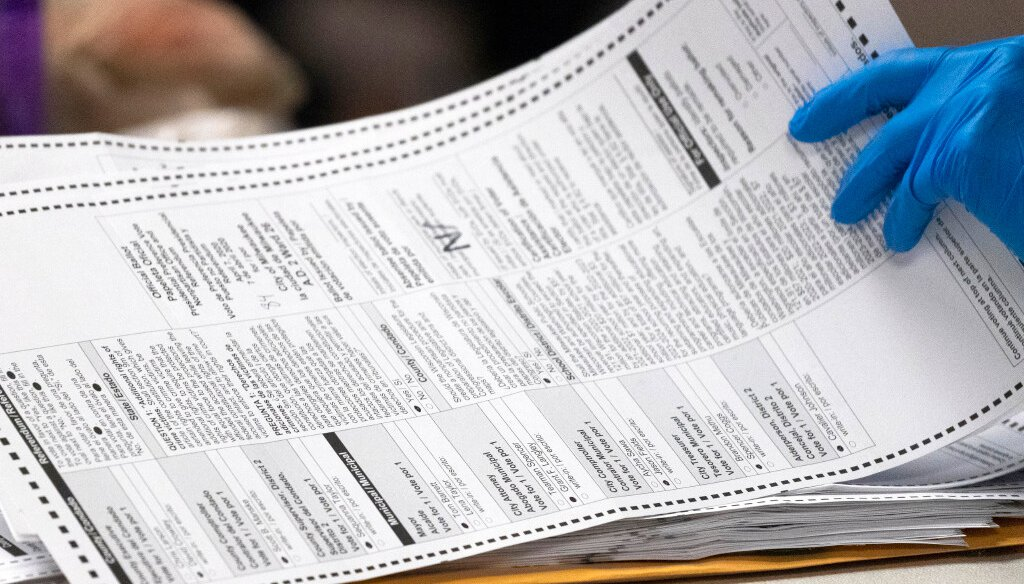Wisconsin ballots (file photo)