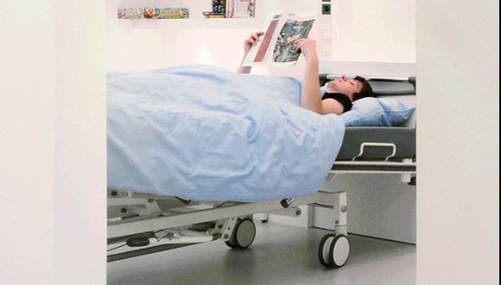 NASA bed rest studies required test subjects to lie down for weeks at a time. (NASA photo)