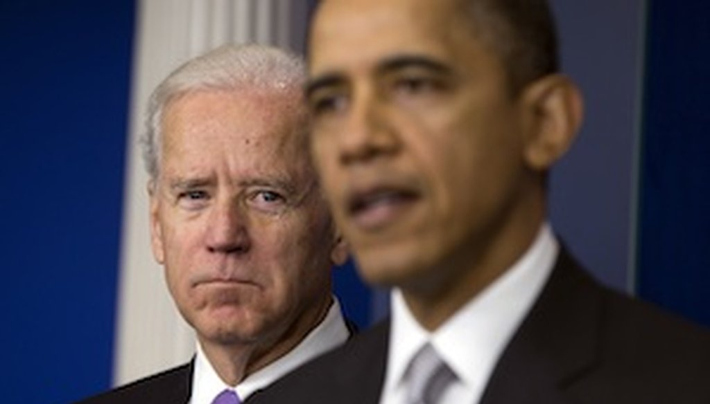 President Barack Obama announces this week that Vice President Joe Biden will lead a gun violence task force. (AP)