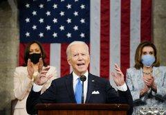 Fact-checking President Joe Biden's first speech to Congress