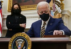 ISIS, drug prices and COVID-19 deaths: How a viral post misleads on Biden's first days in office