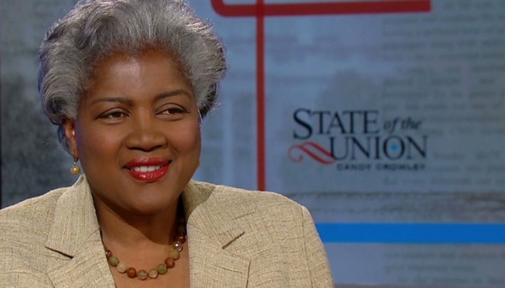 Donna Brazile of ABC News and CNN won our first PunditFact Madness challenge.