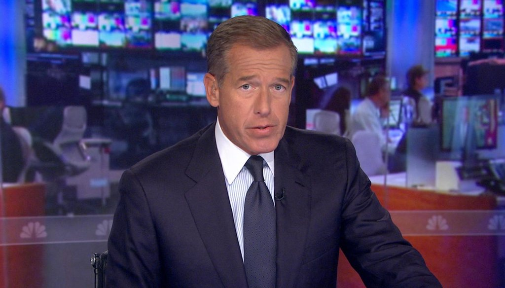 NBC News anchor Brian Williams apologized Wednesday for repeatedly and wrongly claiming that he was in a Chinook helicopter that sustained a rocket attack during the first days of the 2003 Iraq war.