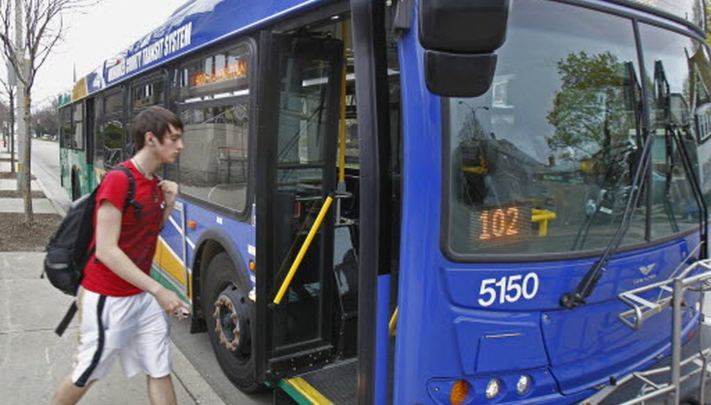 Ridership on Milwaukee County buses has dropped steadily for more than a decade, amid funding cuts that have eliminated routes and stops