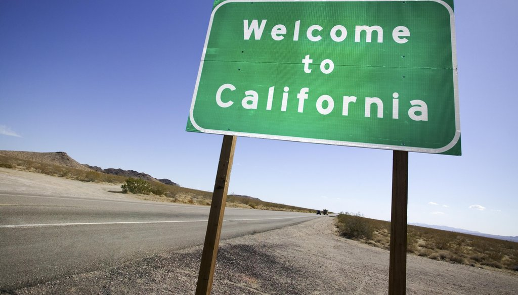 """Pat Buchanan said, """"Right now, one third of all illegal aliens are going to California."""""""