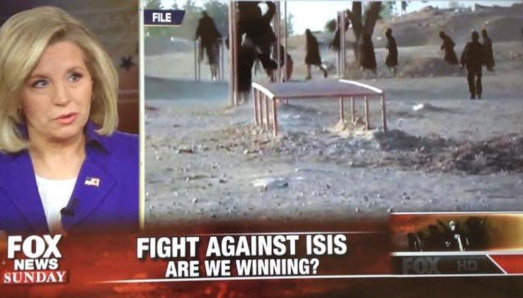 "Liz Cheney on ""Fox News Sunday"" March 22, 2015."