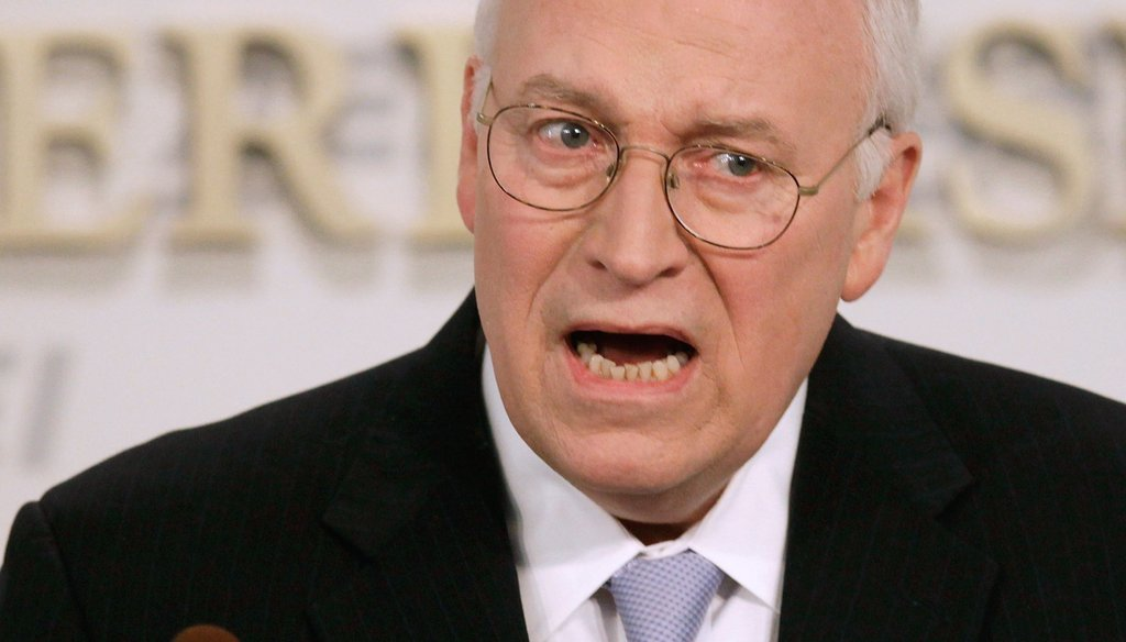 "Former vice president Dick Cheney will appear on NBC's ""Meet the Press"" on Dec. 14, 2014. (Getty photo)"