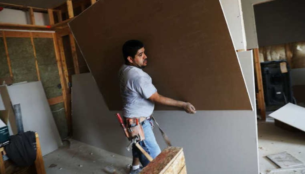 Misclassifying employees as independent contractors is an issue in the construction industry. (Getty Images)