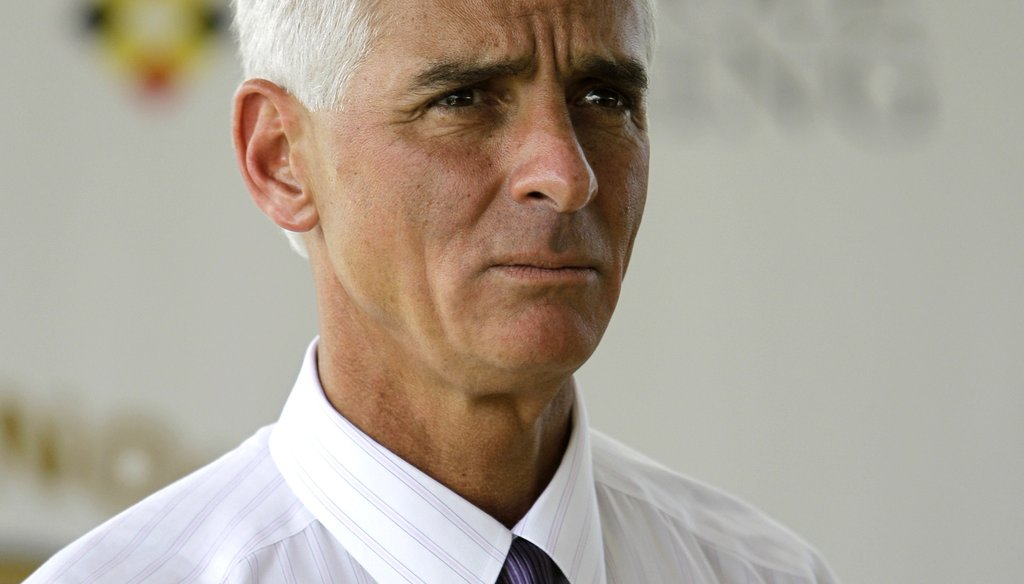 Are Charlie Crist's poll numbers tanking?