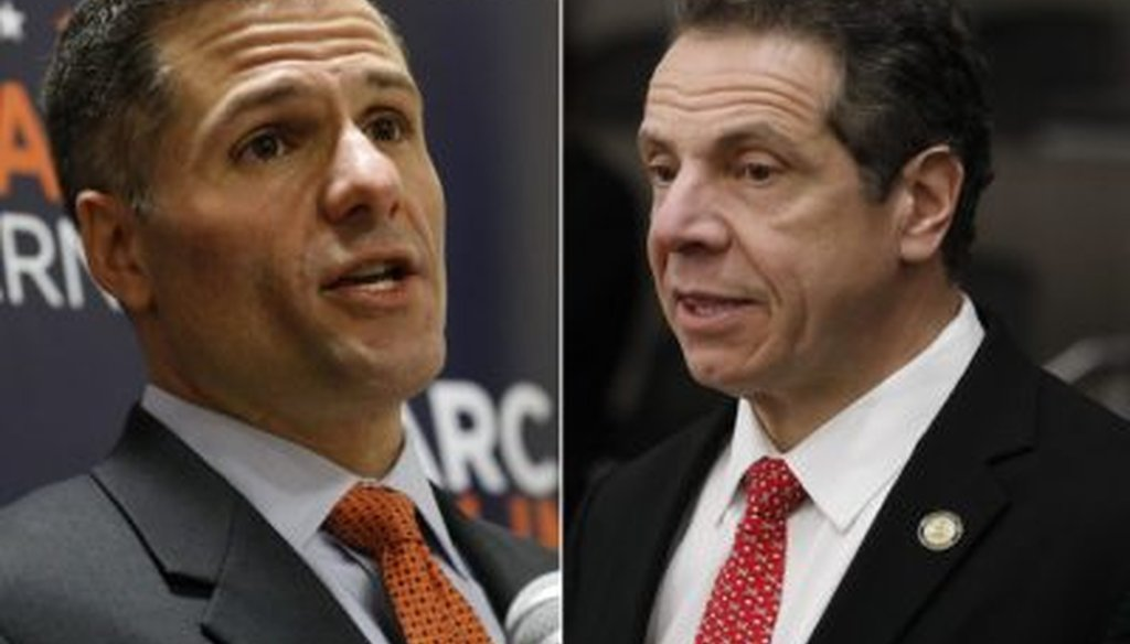 Marc Molinaro is challenging Gov. Andrew Cuomo.