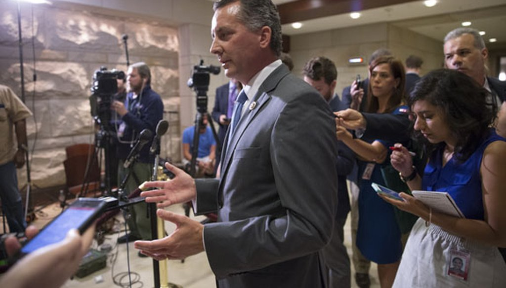U.S. Rep. David Jolly has announced he will run for re-election in the U.S. House against former Gov. Charlie Crist. (AP photo)