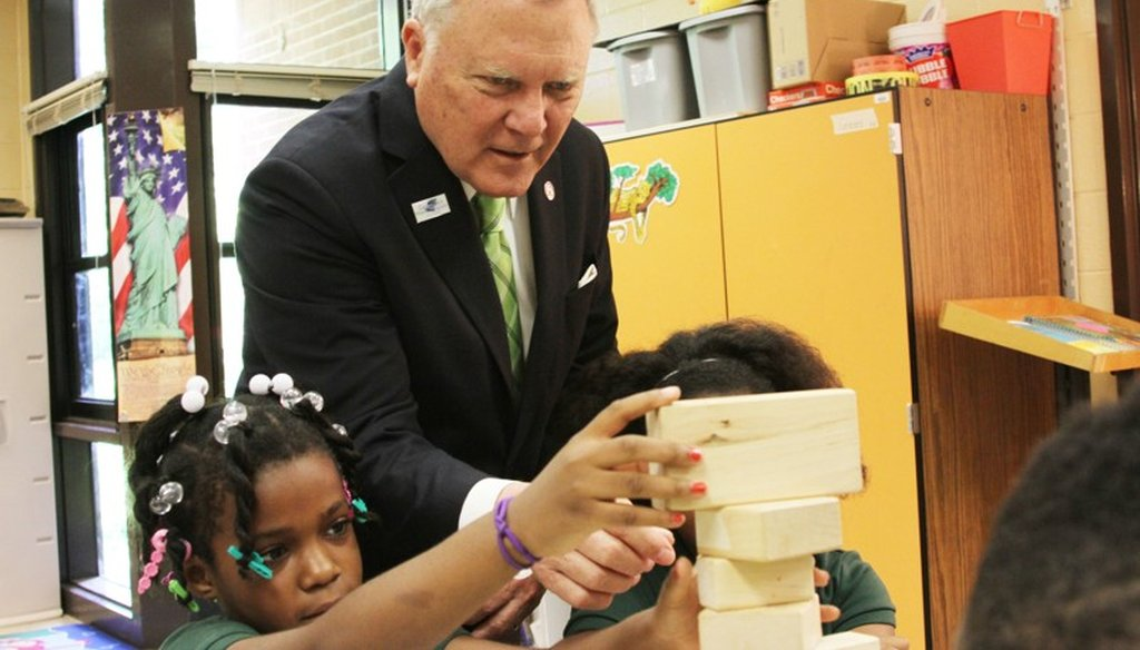 Georgia Gov. Nathan Deal seeks to create a state-run school district