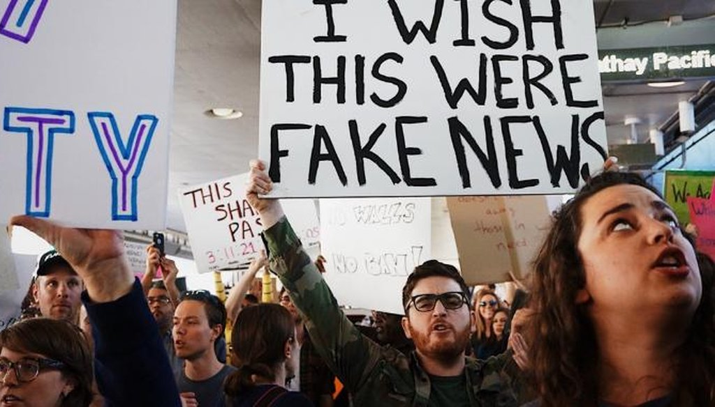PolitiFact offers its guide to spotting fake news.