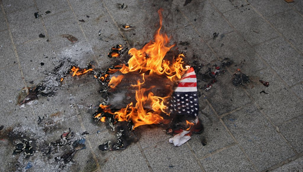 Both Republicans and Democrats have tried to ban flag burning