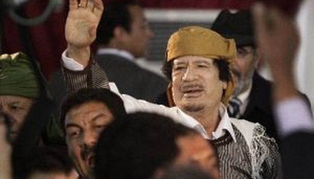 Moammar Gadhafi of Libya managed to pass a budget during a civil war, so why can't the U.S. Senate? We check it out.