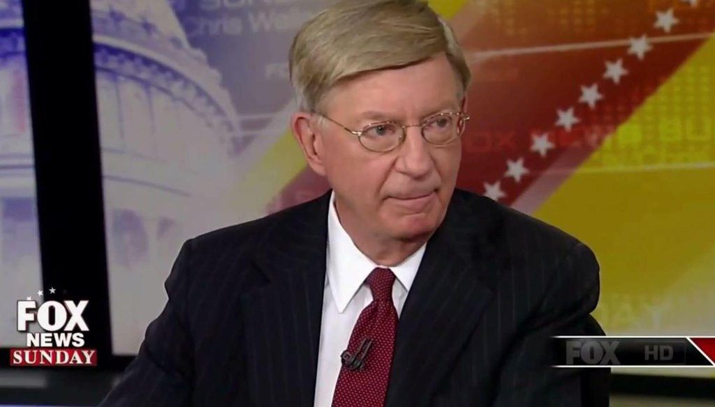 "On ""Fox News Sunday"" on Sept. 21, 2014, George Will said NFL Commissioner Roger Goodell will survive despite his missteps."