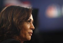Kamala Harris made forceful claims on civil rights and immigration. Did she get them right?