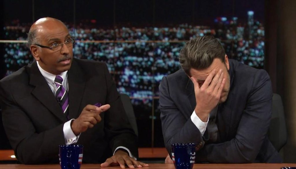 """Actor Ben Affleck argued with HBO host Bill Maher in Maher's Oct. 3 episode of """"Real Time."""" (HBO)"""