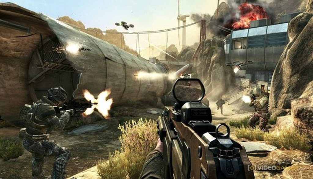"""A scene from """"Call of Duty: Black Ops 2."""" (Activision)"""