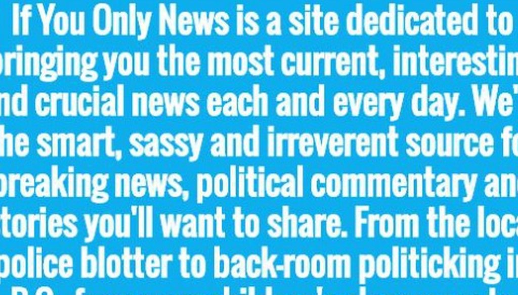 This site says it offers hot news and entertainment.