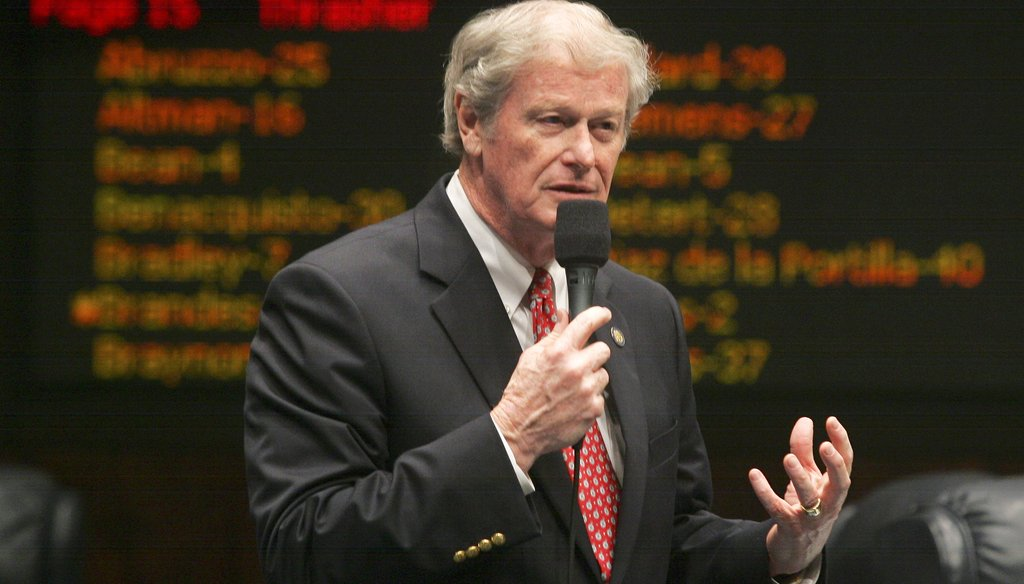 Former state Sen. John Thrasher was formerly speaker of the House and chairman of Gov. Rick Scott's re-election campaign. (Times photo)