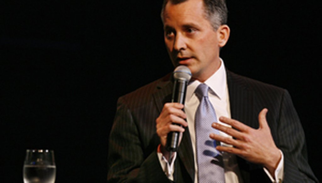 David Jolly noted the Supreme Court's ruling during a debate in Clearwater on Feb. 25, 2014.