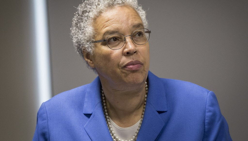Cook County Board President Toni Preckwinkle is running for mayor of Chicago. (Rich Hein/Sun-Times)