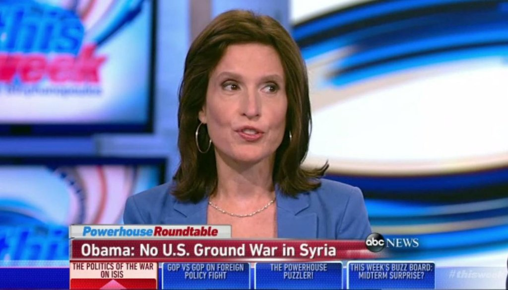 Liberal magazine editor Katrina vanden Heuvel said Americans are not supportive of action beyond airstrikes against the Islamic State.
