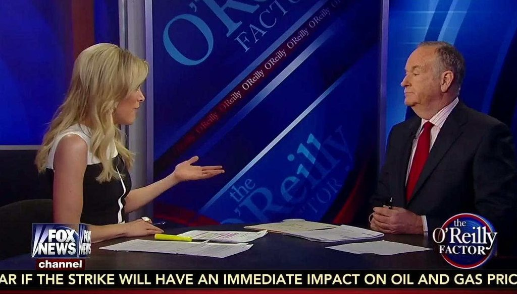 Fox News host Megyn Kelly told her Fox News colleague Bill O'Reilly that measles vaccination should be mandatory.