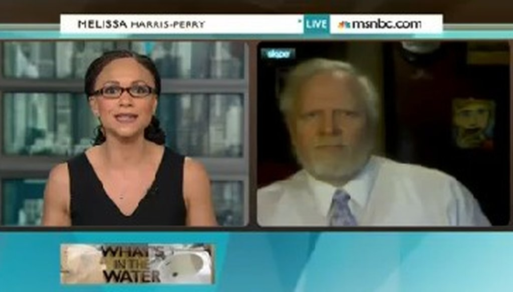 "Bob Kincaid appeared on the Jan. 19, 2014, edition of ""Melissa Harris-Perry."""