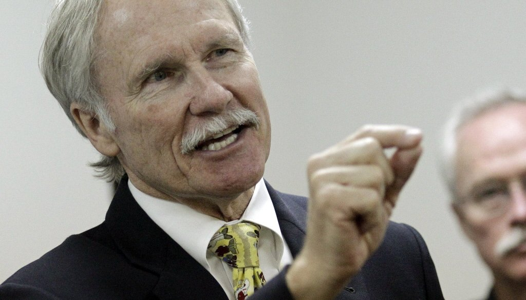 John Kitzhaber is the Democratic candidate for Oregon governor.