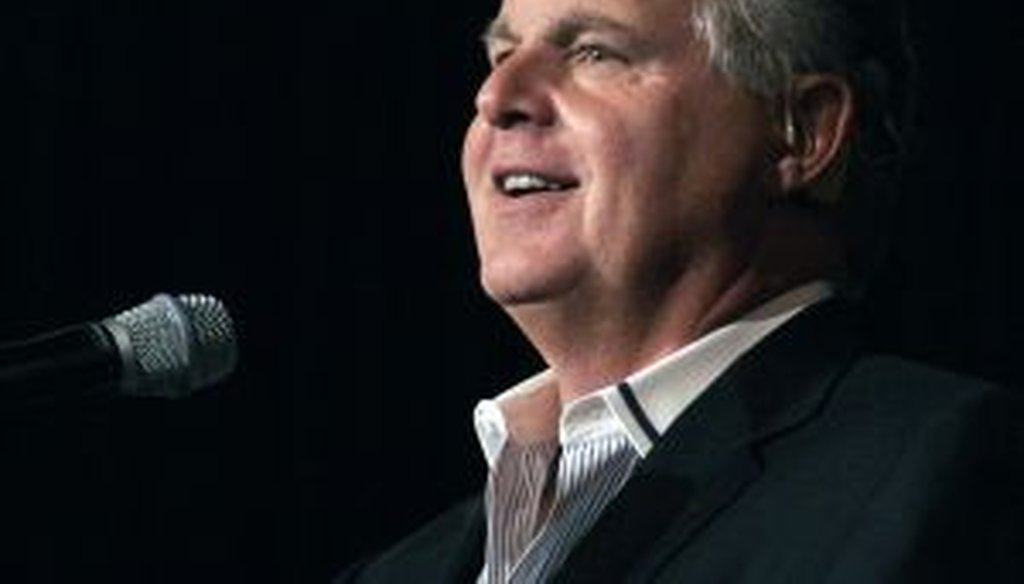Rush Limbaugh said the Obama administration planned the influx of children across the U.S.-Mexico border. Pants on Fire!