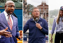 Fact-checking Kelly Loeffler, Doug Collins and Raphael Warnock in the Georgia special Senate race
