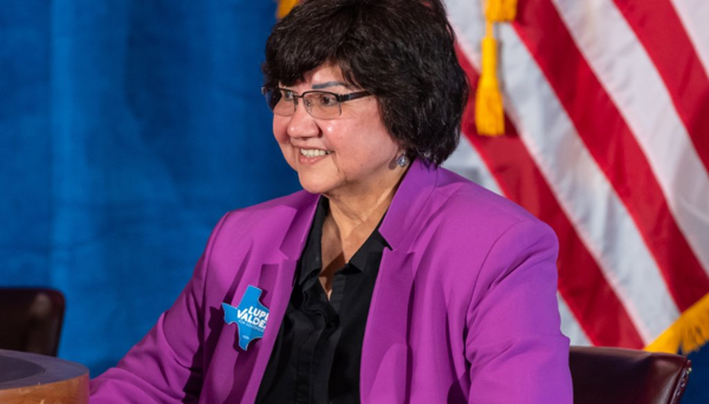 Democratic gubernatorial nominee Lupe Valdez says that 1 in 4 family planning clinics closed after Republican lawmakers cut spending (James Stacy, Austin American-Statesman, May 11, 2018).