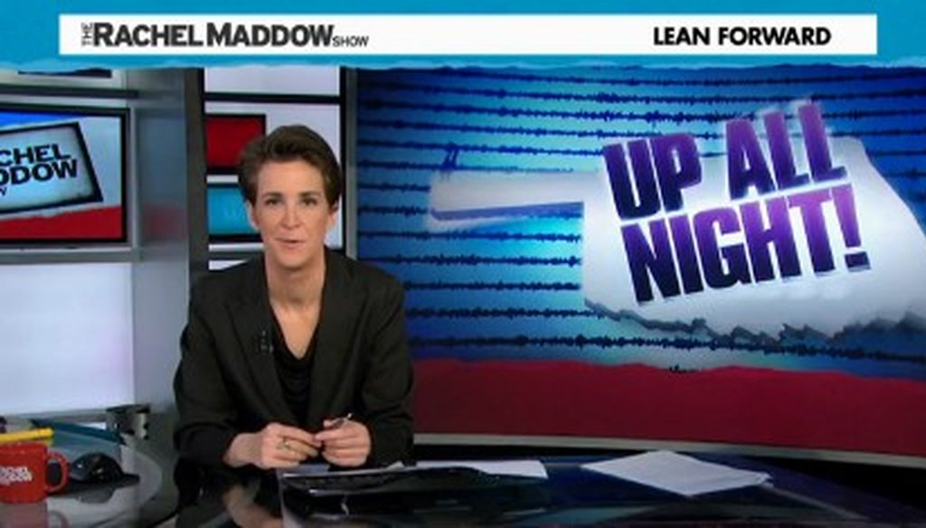 A reader asked us to look into a claim made by Rachel Maddow about earthquakes at the Dallas/Fort Worth International Airport.