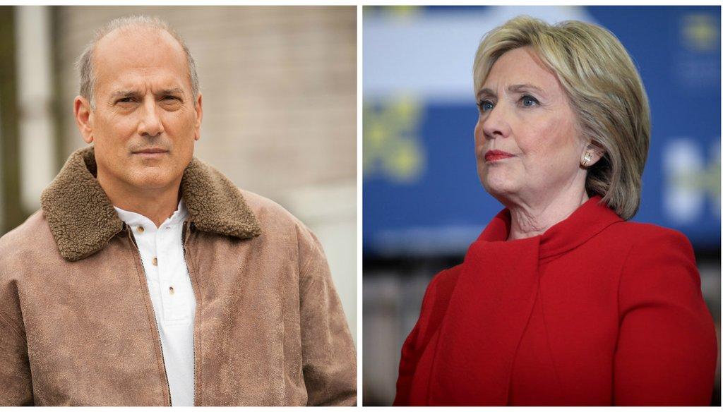 Left: Rep. Tom Marino Right: Hillary Clinton