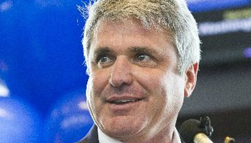 Michael McCaul helped note Southwest Airlines flying nonstop from Austin to Washington, D.C., in July 2012 (Austin American-Statesman photo).