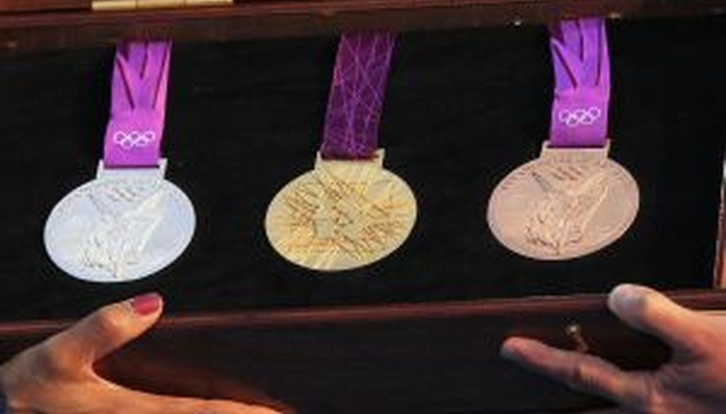 Will the tax man come for a bite of the Olympic medals?