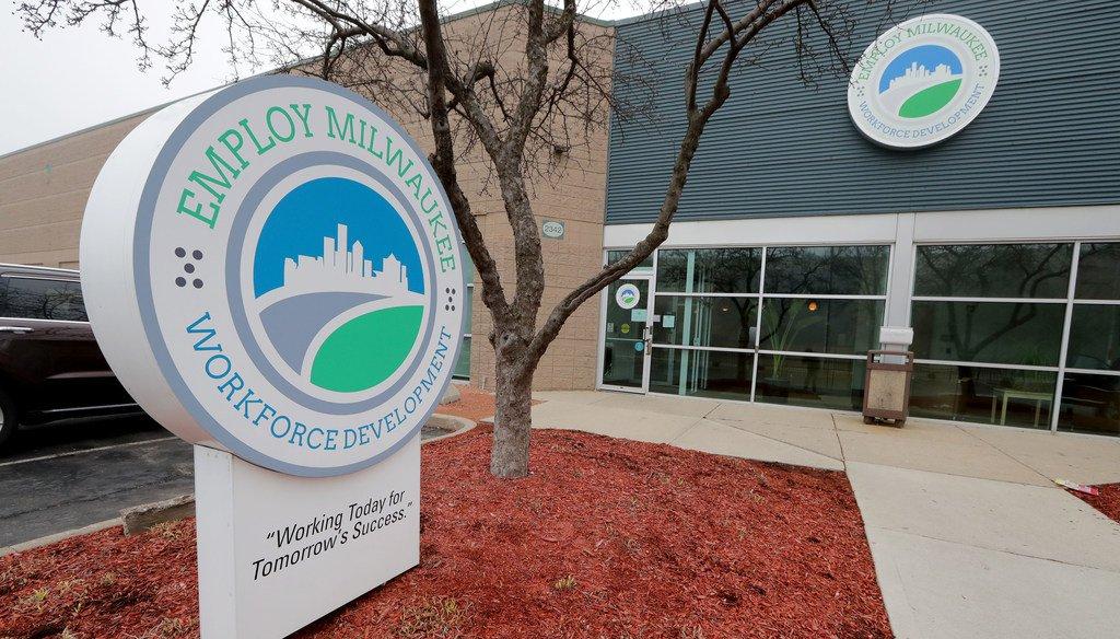The Employ Milwaukee Workforce Development location at 2342 North 27th Street, Milwaukee on Thursday, March 19, 2020 (MIKE DE SISTI / MILWAUKEE JOURNAL SENTINEL)