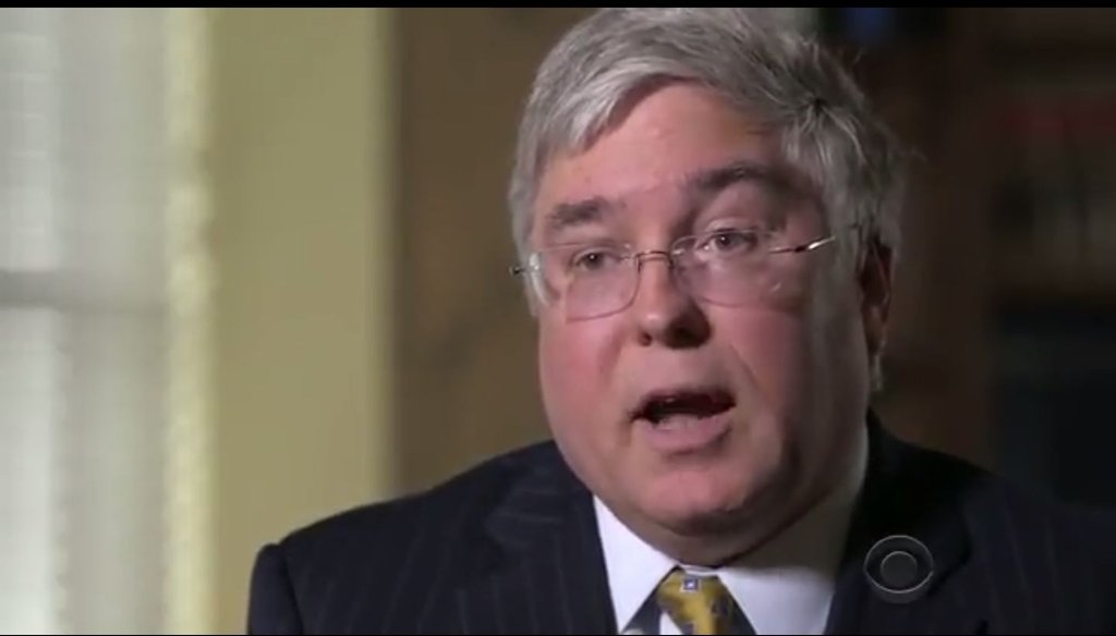 West Virginia Attorney General Patrick Morrisey, a candidate for U.S. Senate, was accused of supporting abortion rights in a 2000 Congressional race.