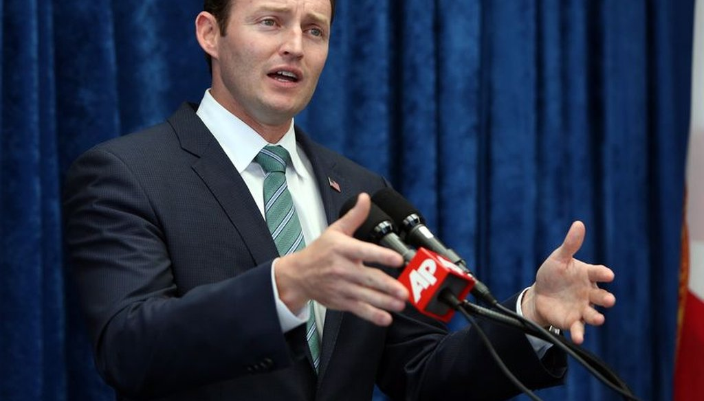 U.S. Rep. Patrick Murphy, D-Jupiter, is running for U.S. Senate in Florida in 2016.
