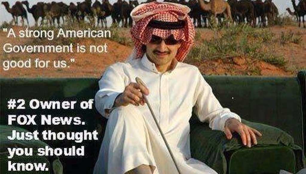 This post shared by a liberal Facebook group says the No. 2 Fox News owner has expressed anti-American sentiment.