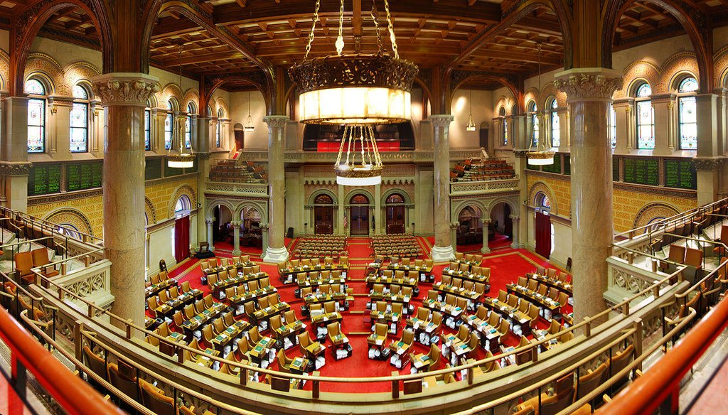 The New York State Assembly in Albany, N.Y. (Associated Press photo)