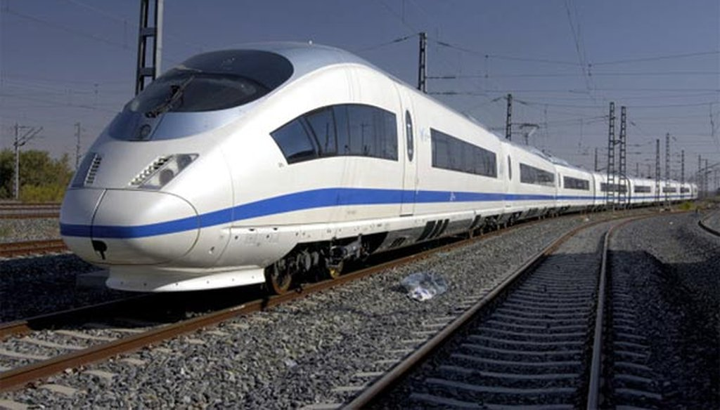 Many people are fighting Florida Gov. Rick Scott to keep high-speed rail on track.