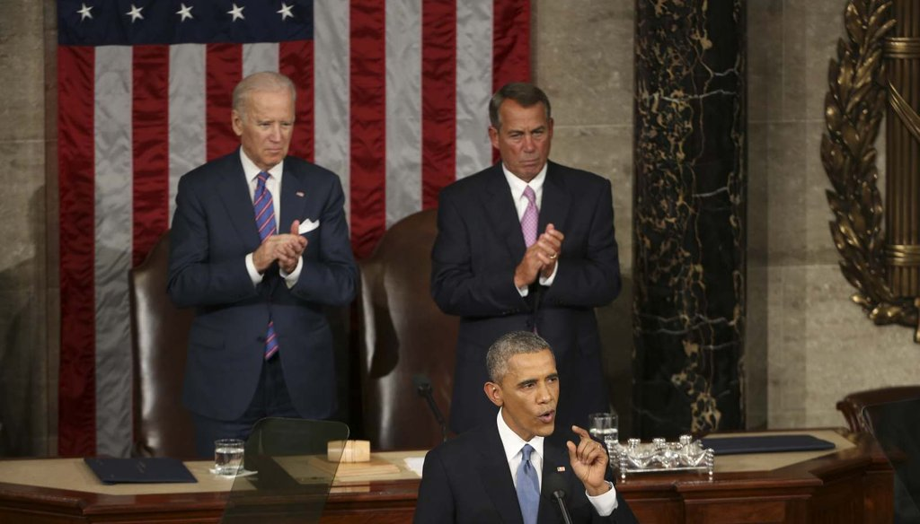 President Barack Obama delivers his sixth State of the Union address Jan. 20, 2015 (Photo credit: New York Times)