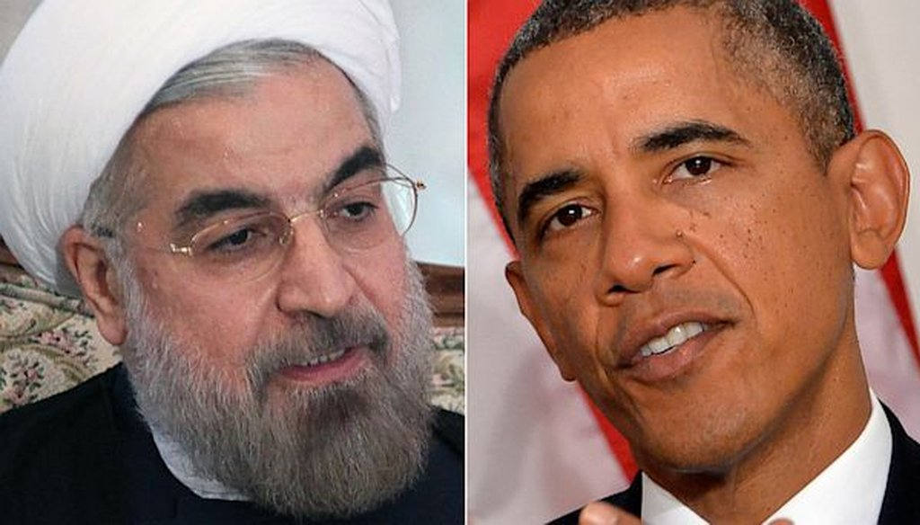 Iranian President Hassan Rouhani has more people in his Cabinet with Ph.D.s from American universities than U.S. President Barack Obama.